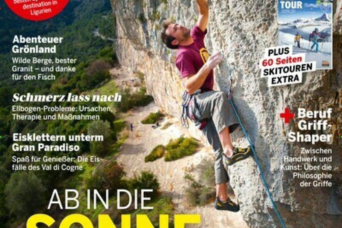 klettern - epaper Titelbild Ausgabe 1/2020 (2112682)